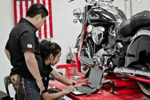 Showroom INDIAN MoTORCYCLE 7